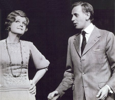 With Angela Lansbury in Gypsy