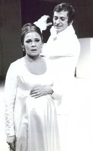 As Leontes in A Winter's Tale with Judi Dench